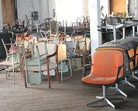 Our 4th floor has more chairs than you can imagine!
