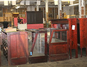 We have tons of showcases, furniture and more here