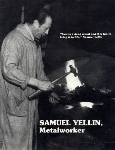 Samuel Yellin, master blacksmith