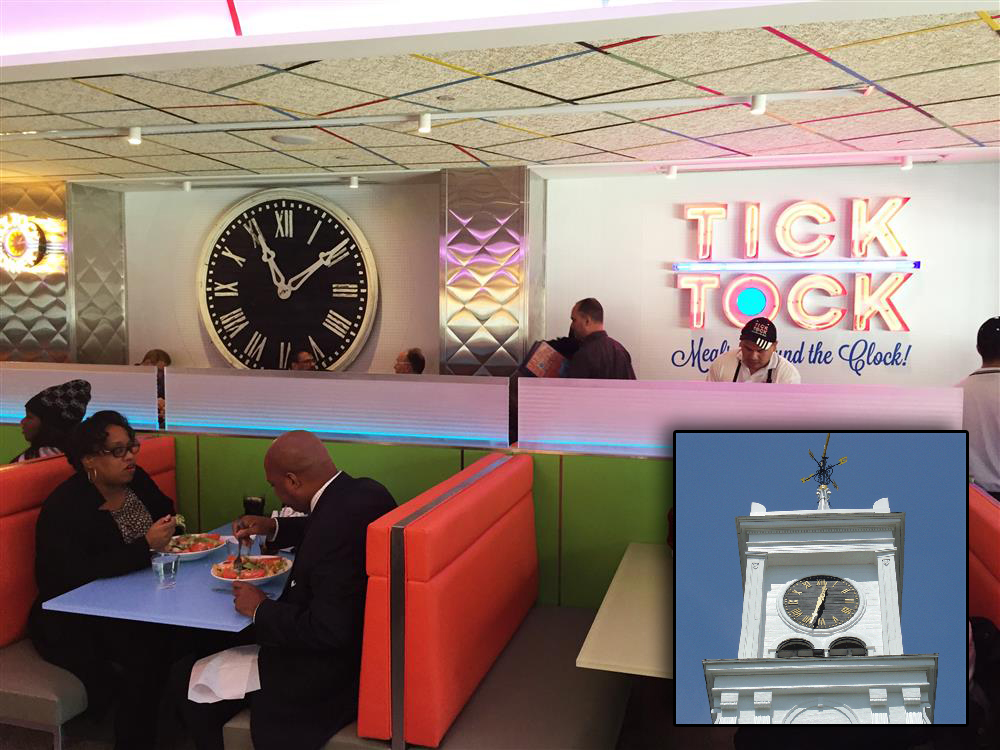 Tick Tock Diner on 34th Street in Manhattan
