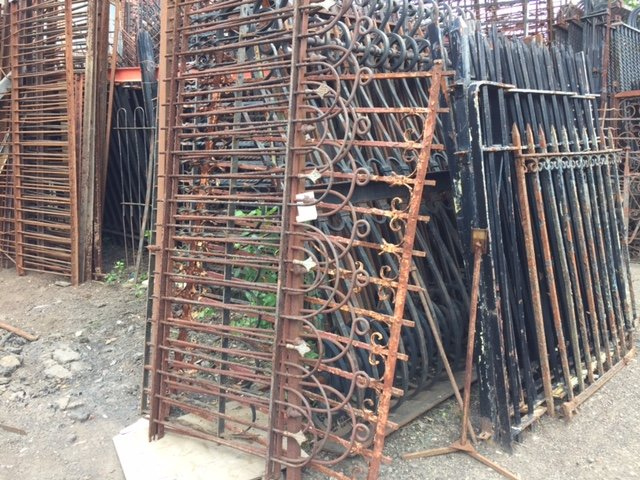Hoop and loop style fencing is just one of the many varieties of antique fencing we have salvaged