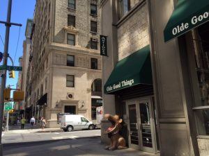 Outside of our Madison Avenue store