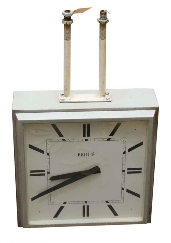 60s Hanging Double Sided Sided Clock
