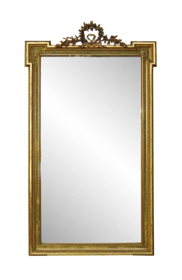 French Victorian Carved Gilt Wood Mirror