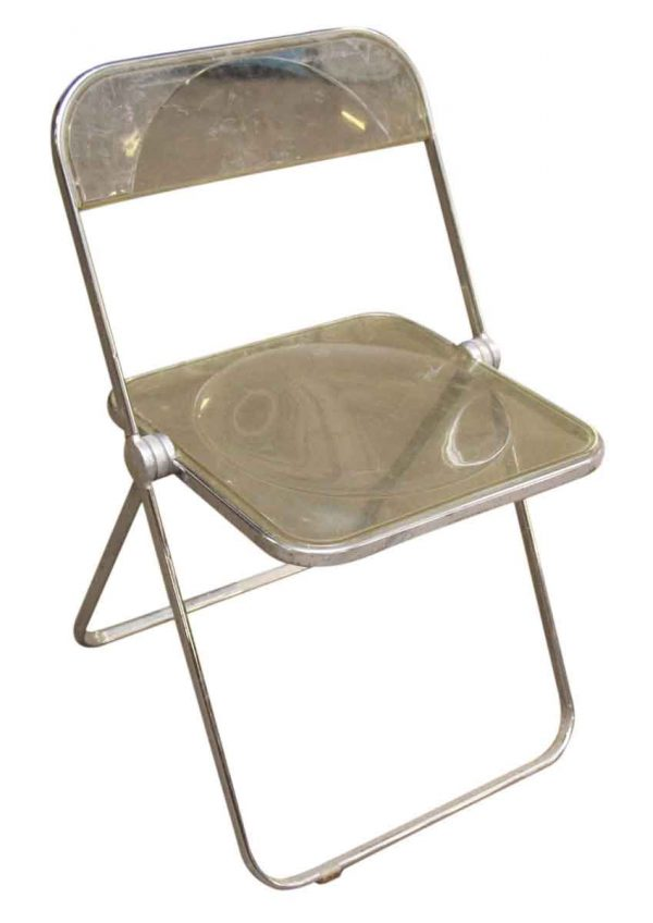 1970s Lucite Folding Chairs