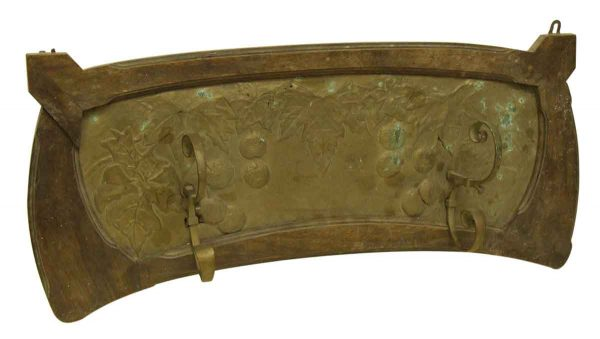French Turn of the Century Copper Wall Rack