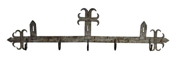 Forged Iron Hook Rack