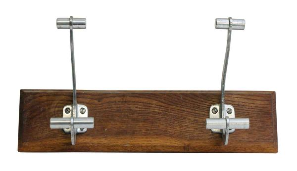 Plank with Two Aluminum Hooks