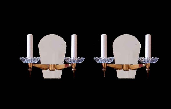 Pair of French Modern Style Sconces