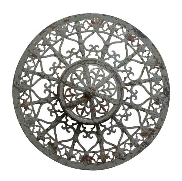 Oversized Victorian Filigree Flush Mount Theater Light Cover