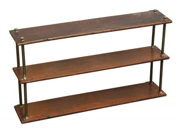 Three Tiered Wooden Rack