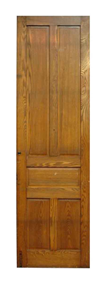 Tall Five Panel Chestnut Door
