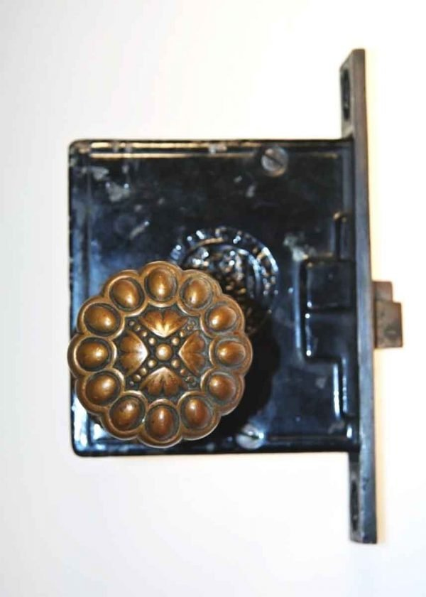 Cast Bronze Entry Set with Mortise Lock