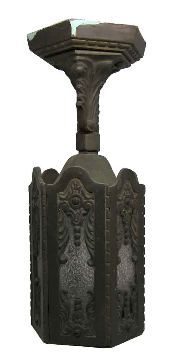 Antique Textured Art Nouveau Lantern