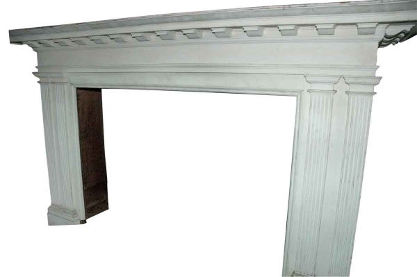 Oversized Federal Style Mantel