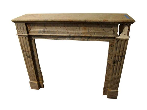 Late 19th Century Louis XVI French Marble Mantel