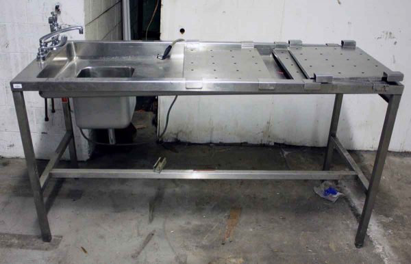 Stainless Steel Sink & Counter