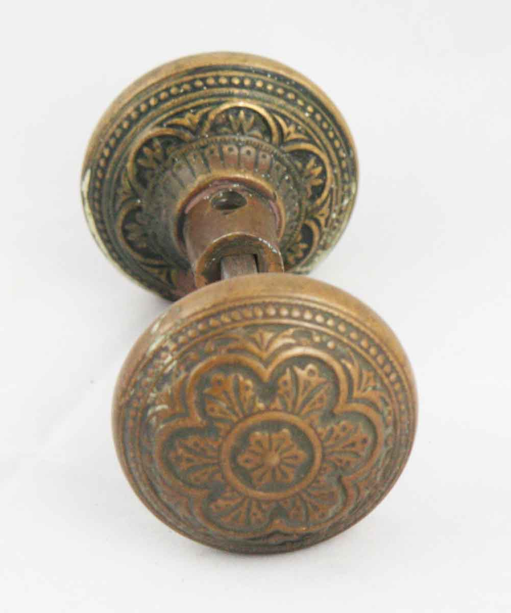 Solid Bronze Corbin Passage Knob Set