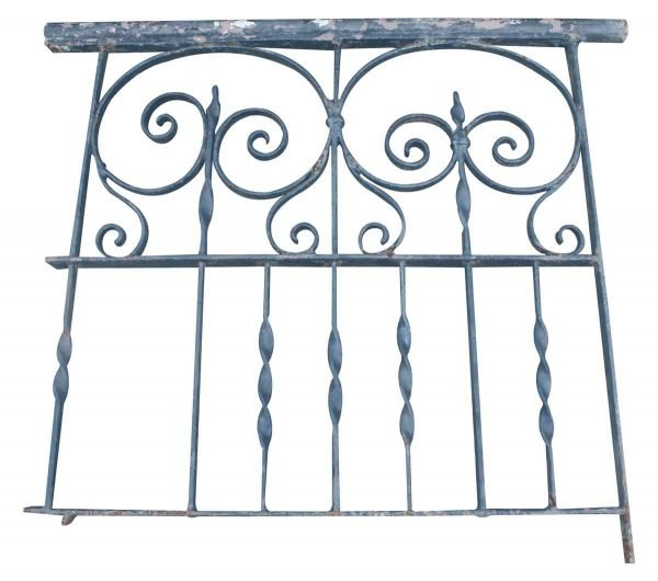 Ornate Wrought Iron Section