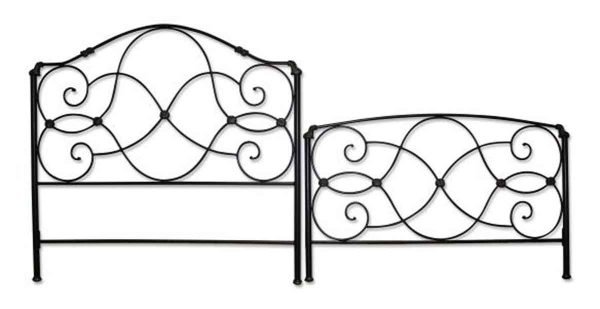 Black Metal Bed Frame Set