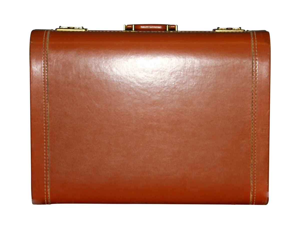 Vintage Leather Briefcase by Luce