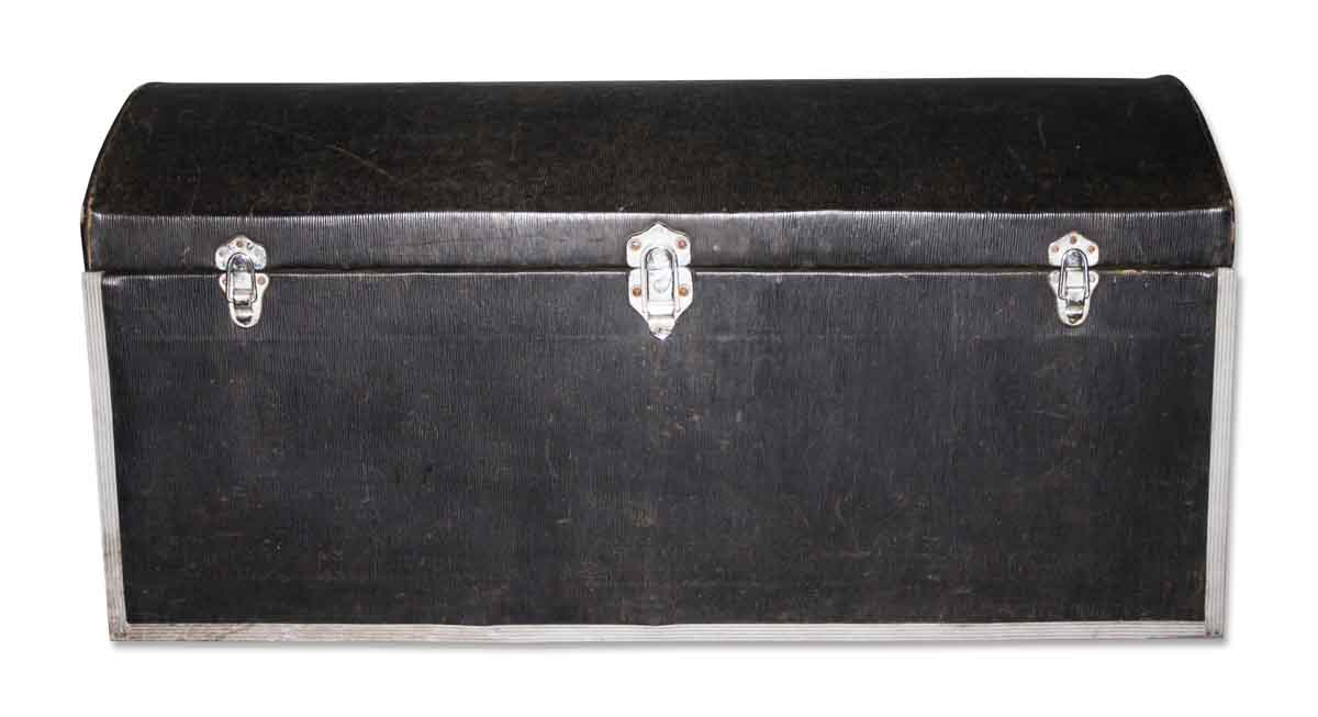Black Trunk with Latches