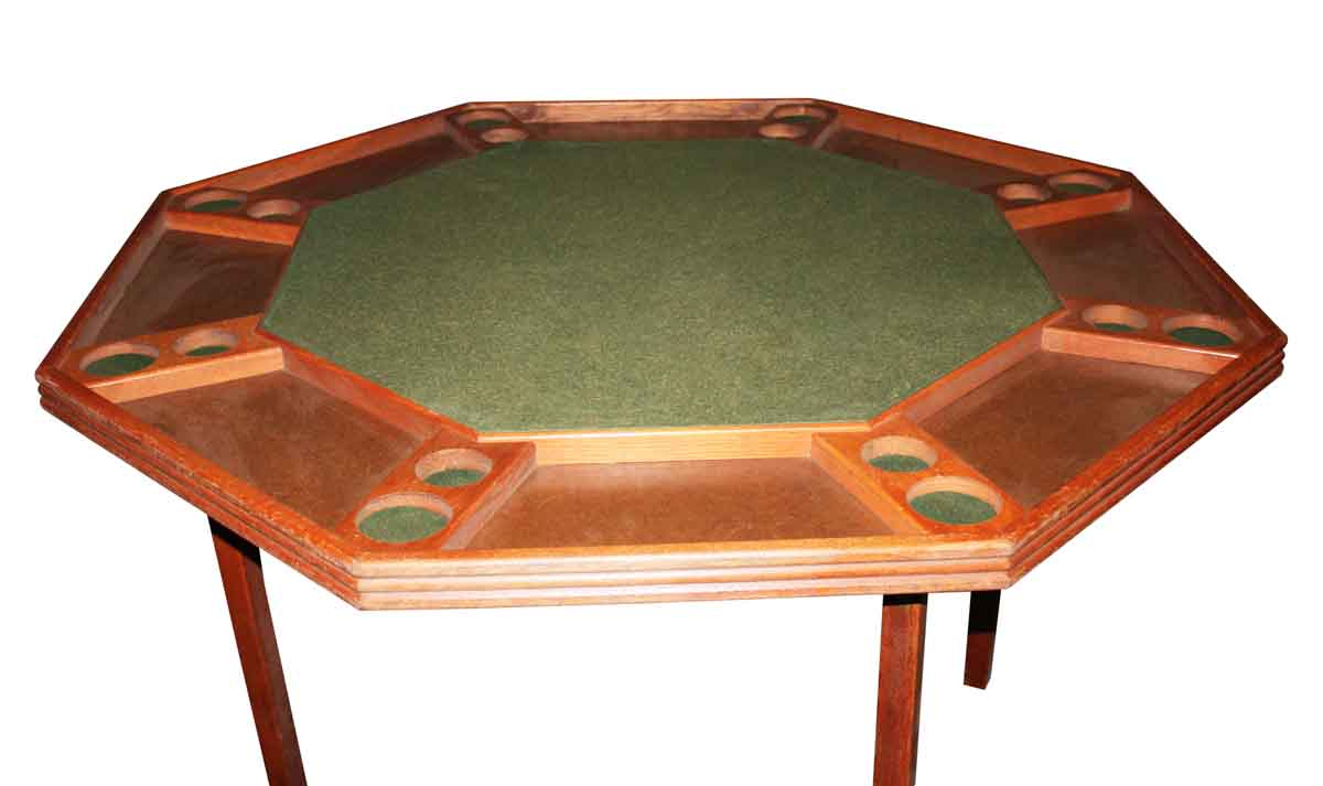 Vintage Folding Card Game Table