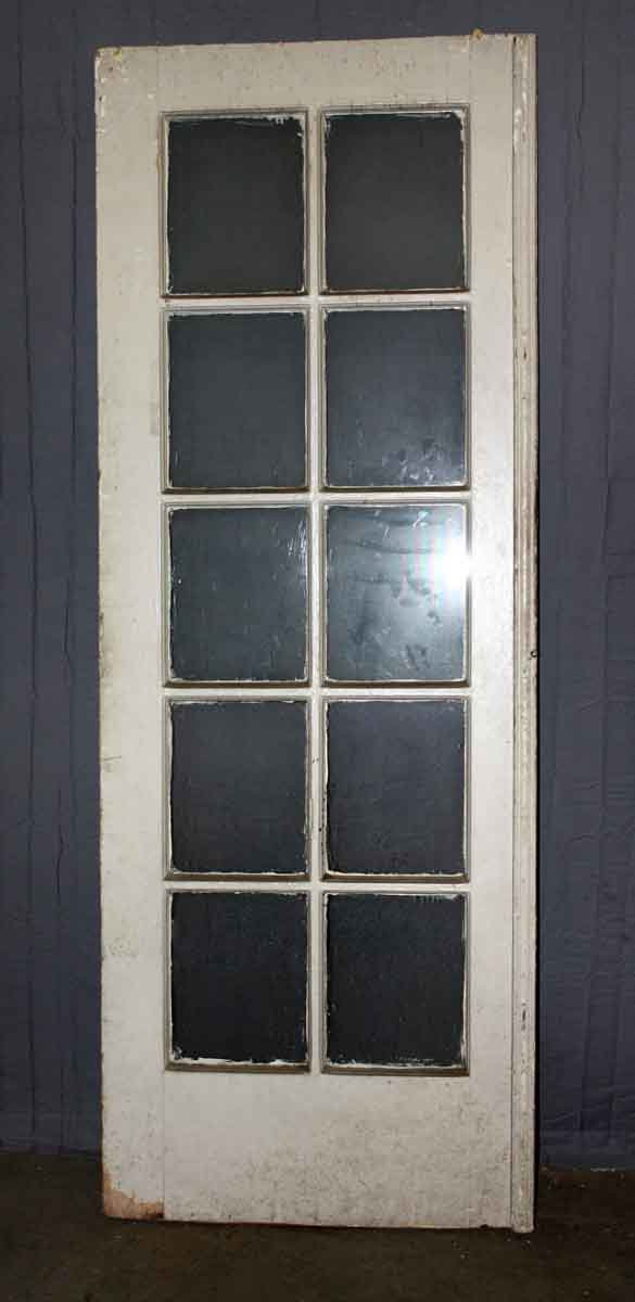 Ten Panel Single French Door