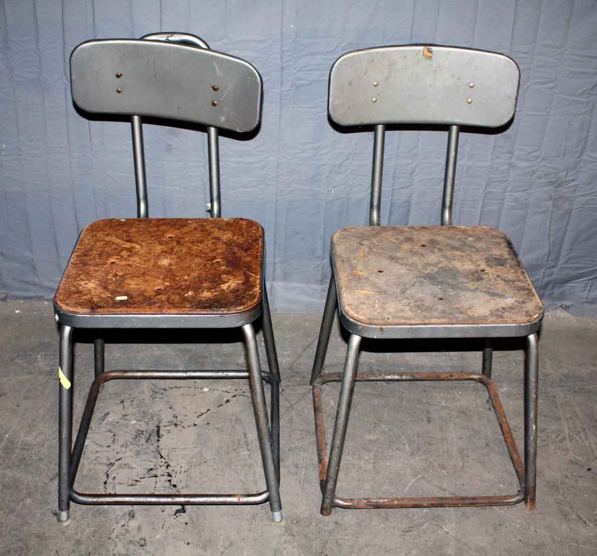 Metal Factory Chairs
