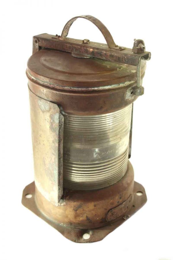 Copper Ship Light with Clear Lens