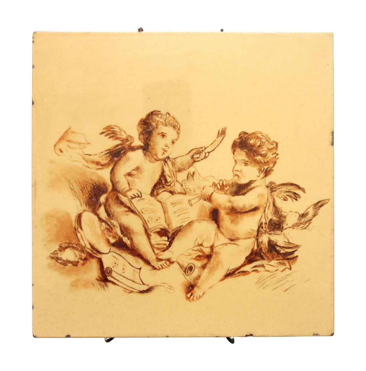 Baby Angels by Minton Hoilins Ceramic Tile