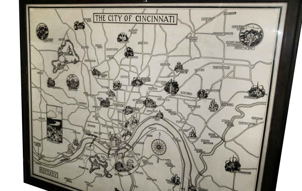 Great Cincinnati Map Picture
