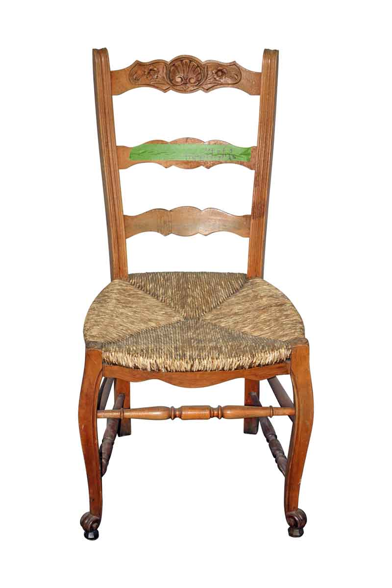 Set of Three Ladder Back Chairs