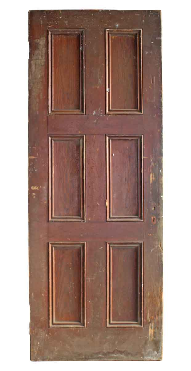 Five Vertical Panel Entry Door
