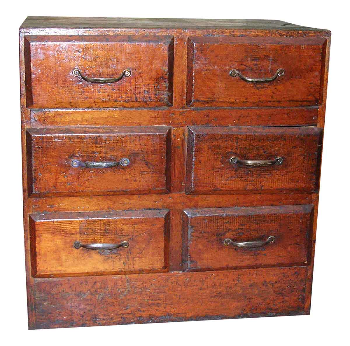 Old Rustic Chest of Drawers