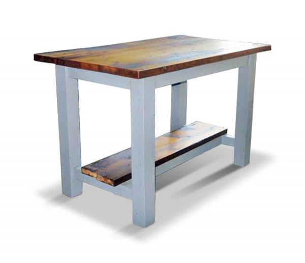 Reclaimed Pine Kitchen Island or Work Table