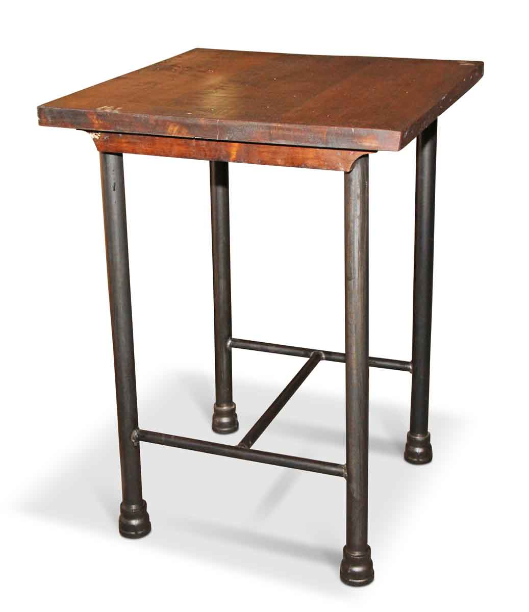 Square kitchen island or tall side table olde good things for Square side table