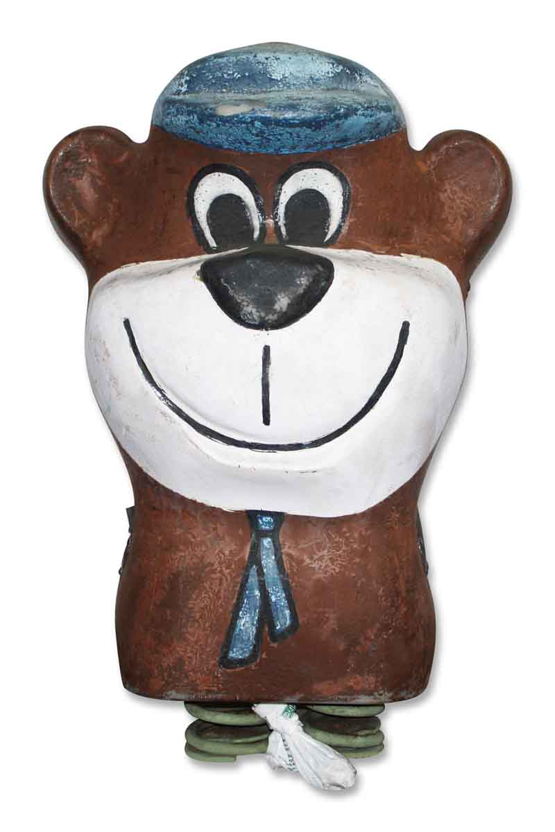 Double Sided Yogi Bear Figure
