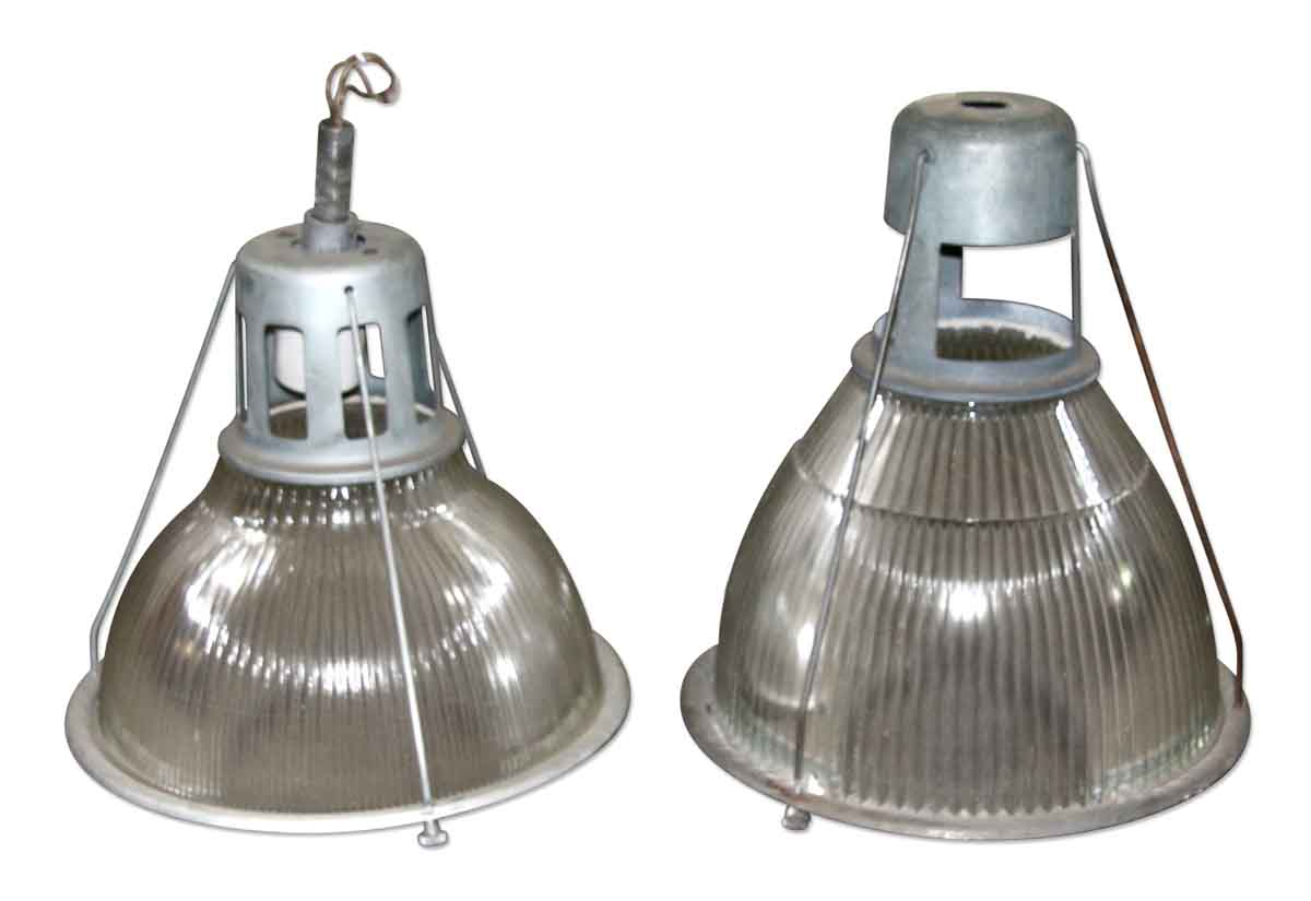 Pair of Industrial Holophane Lights