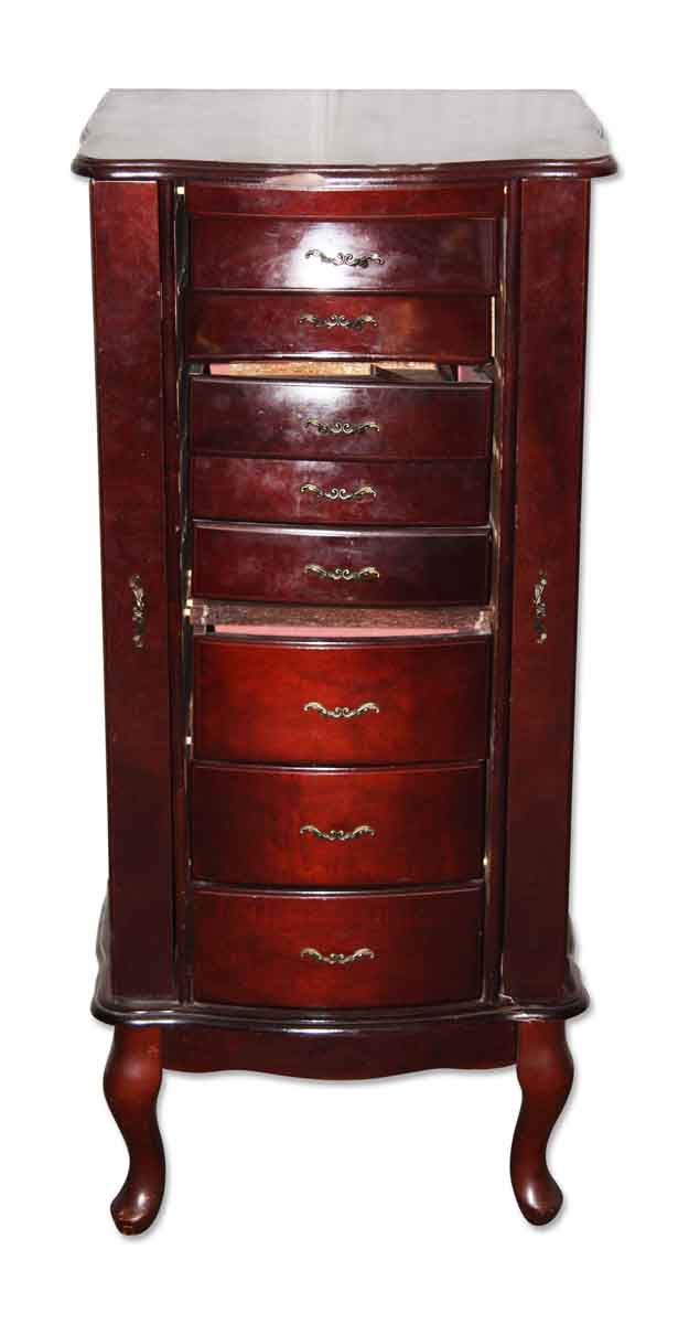 Jewelry Cabinet with Eight Drawers