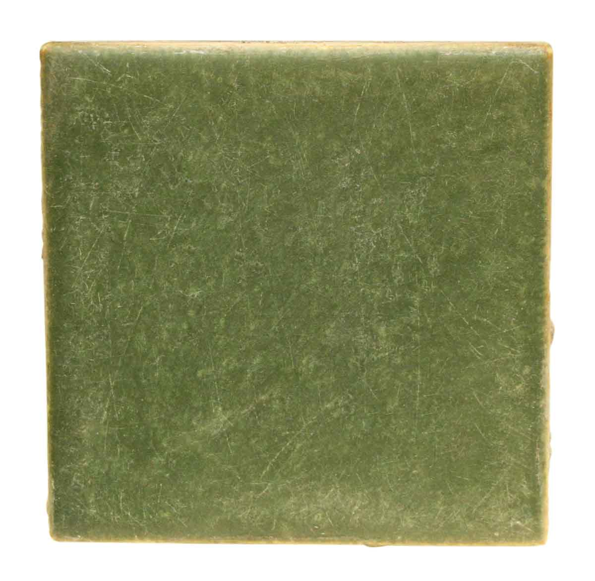 Antique Solid Green Tile