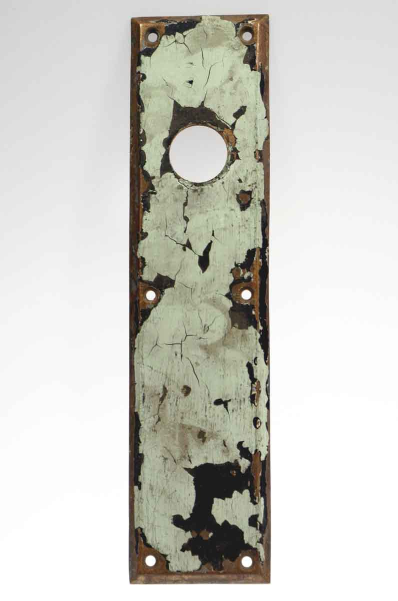 Sargent Push Plate with Lock Insert