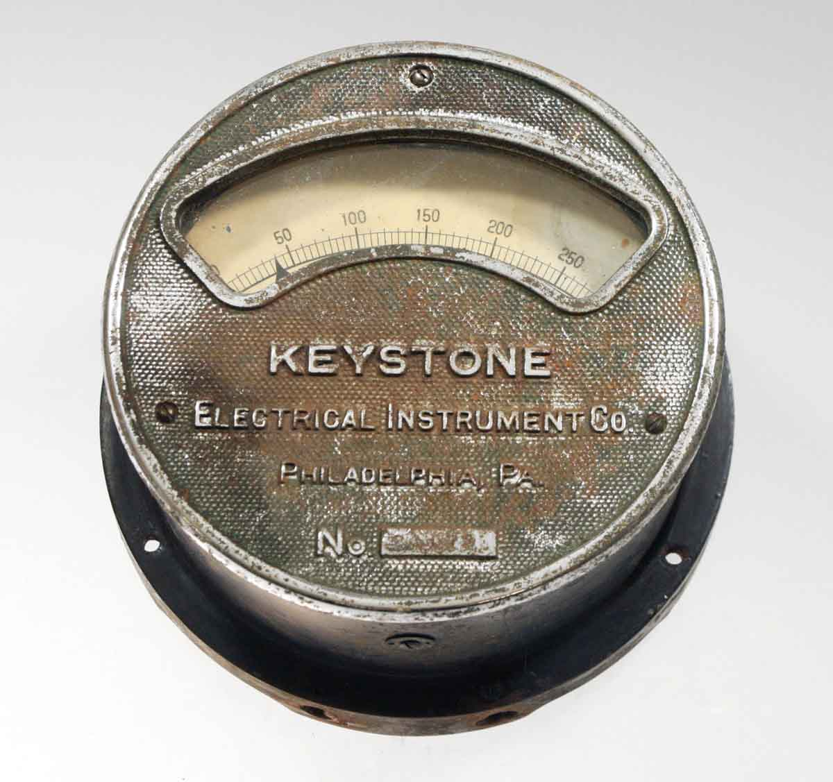 Original Antique Voltmeter