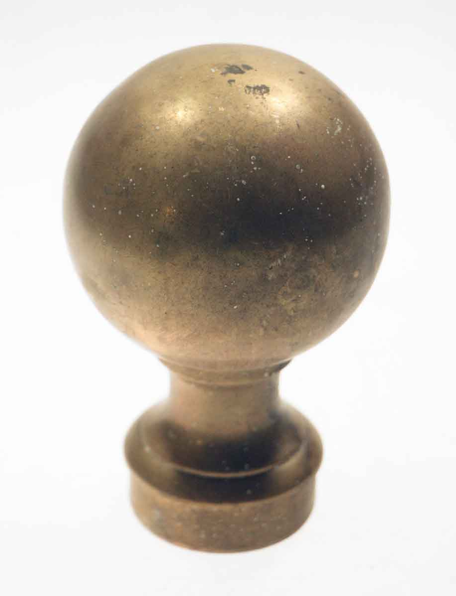 Pair of Brass Finials for Posts