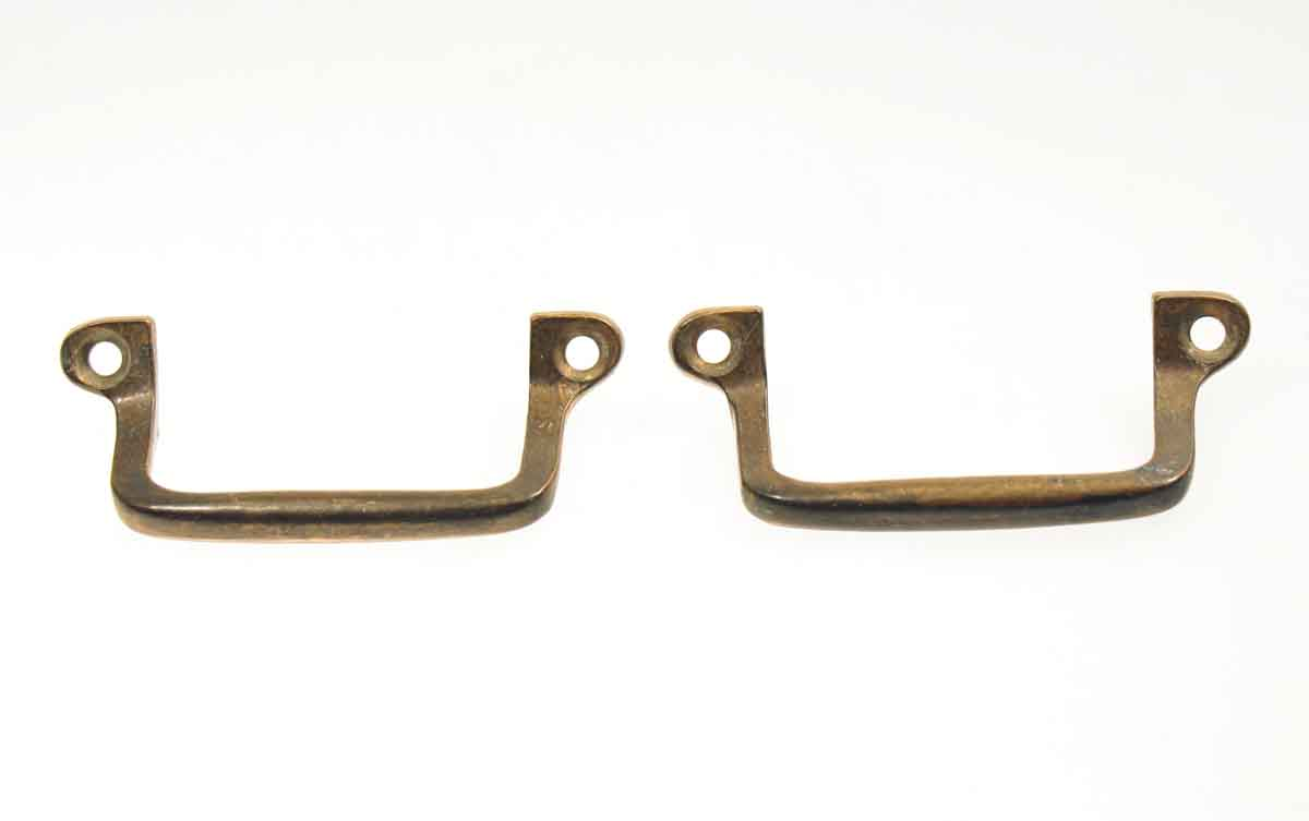 Set of Two Bronze Furniture Pulls