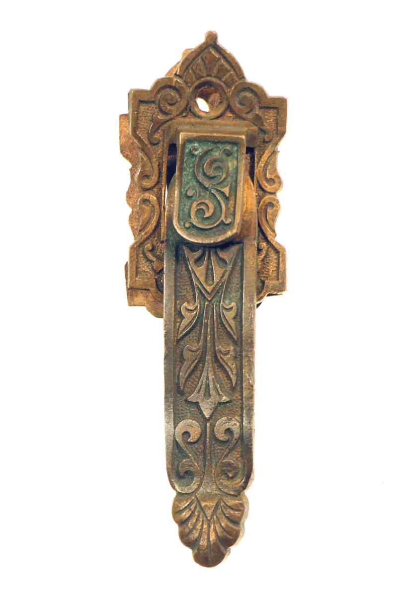 Bronze Ornate Shutter Latch
