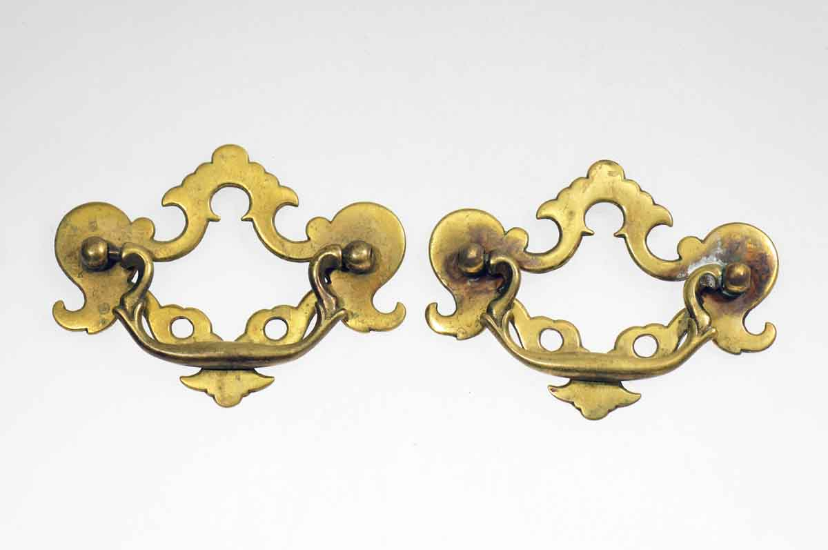 Solid Brass Colonial Revival Style Bail Pull