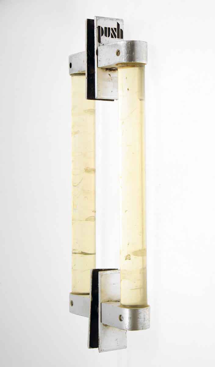 Lucite Push & Pull Handle for Glass Entry Doors