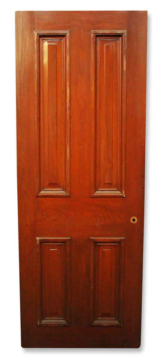 Antique Wooden Entry Door