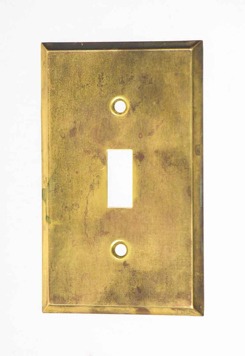Brass Plated Switch Cover